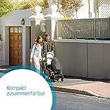 Maxi Cosi Laika Baby-Kinderwagen, ultra-kompakter und federleichter Buggy von der Geburt an, einfacher Faltmechanismus, 0 Monate - 3,5 Jahre, 0 - 15 kg, sparkling grey/grau - 2